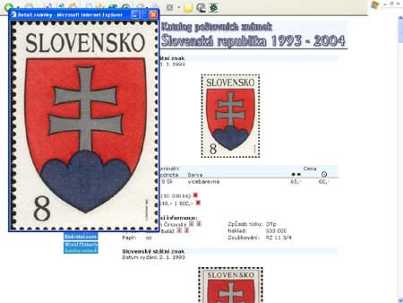 Novinka: CD-ROM World Philately 2005 - Slovenská republika (1993-2004)