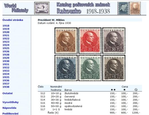 Novinka - CD-ROM World Philately 2016 – Rakousko (1918-1938)