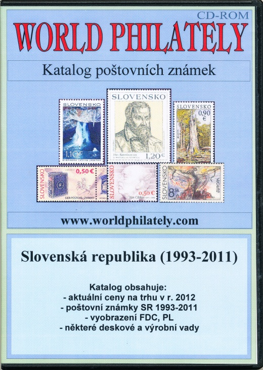 Novinka: Katalog poštovních známek - Slovenská republika (1993-2011) - World Philately 2012