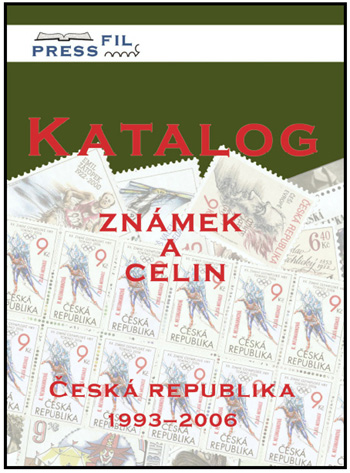 Novinka: PRESSFIL Katalog známek a celin Česká republika 1993-2006
