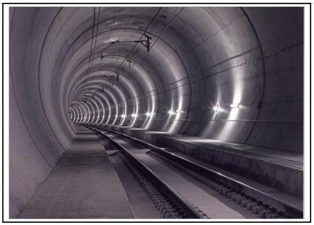 Nový tunel Lötschberg