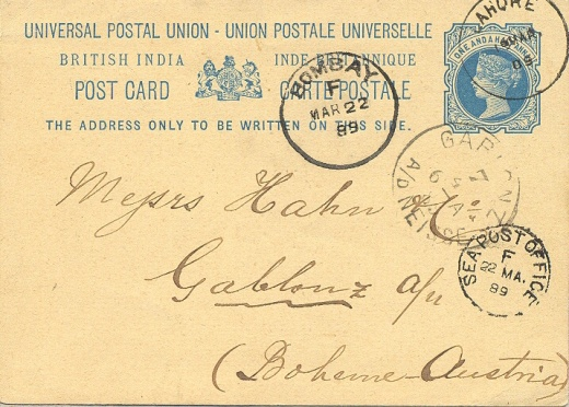 O námětu jedné britské známky