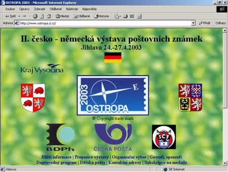 Oficiální infostránky III.