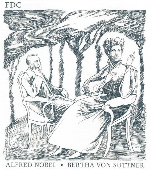 Osobnosti: Bertha von Suttner (1843 - 1914)