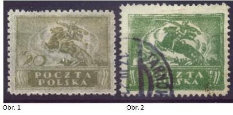 Padělky polských známek ke škodě pošty v období 1920 - 1932
