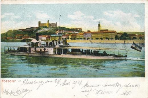 Polní pošta Dunajské flotily