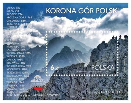 Polský aršík KORUNA HOR POLSKA