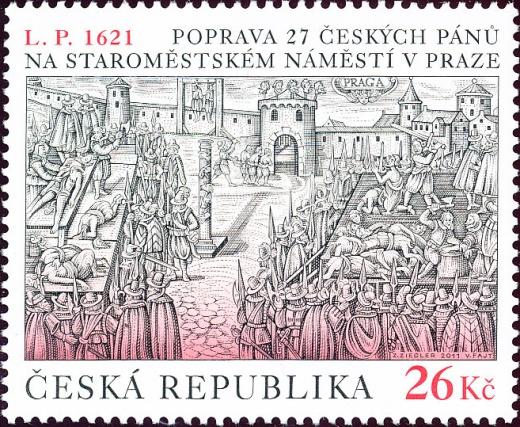 Poprava 27 českých pánů na Staroměstském náměstí