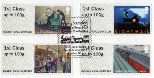Pošta po kolejích - MAIL BY RAIL
