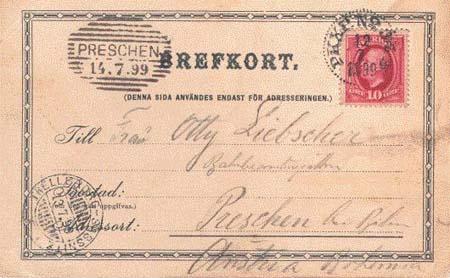 Poštovní přeprava vlakem i lodí