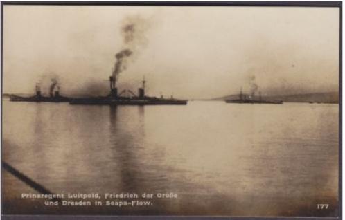 Potopení německé flotily ve Scapa Flow