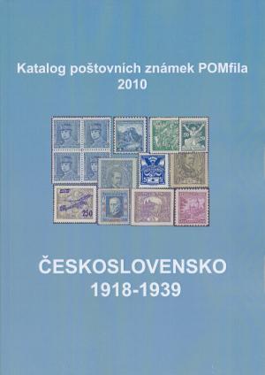 Právě vyšlo tiskem! Katalog poštovních známek - Československo 1918-1939 - POMfila 2010
