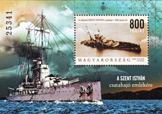 Před 100 lety šla ke dnu bitevní loď SMS Szent István
