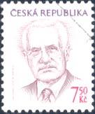 Prezident republiky Václav Klaus -7,50 Kč