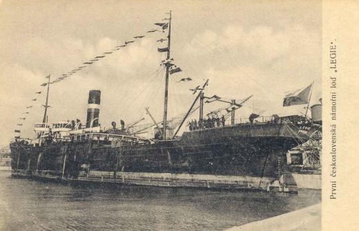 První československá loď Legie ve druhé světové válce
