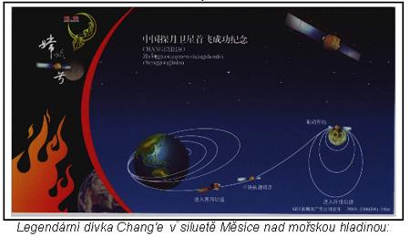 První čínská měsíční sonda