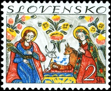 Rakouská skleněná známka