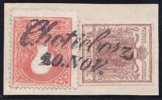 Rakousko 1850 - 1858/59 - padělané smíšené frankatury