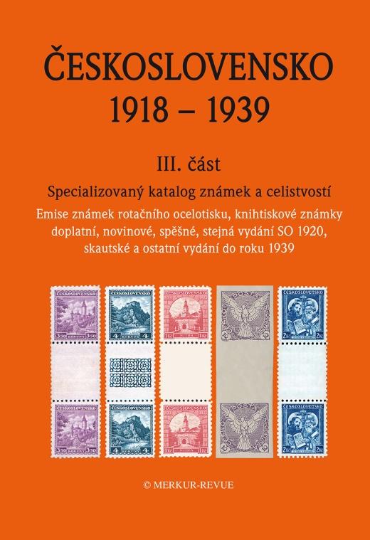 Recenze katalogu Československo 1918 - 1939 III. část