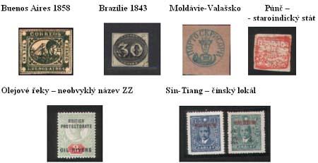 Romantika a tajemství známkových zemí - Známkové země jako sběratelské zaměření