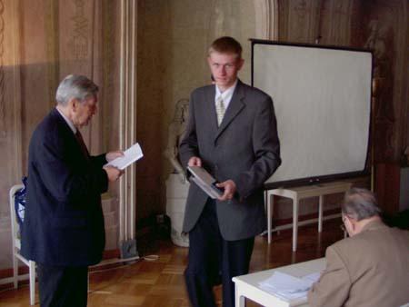 Rozhovor s mladým vystavovatelem Michalem Musilem II.