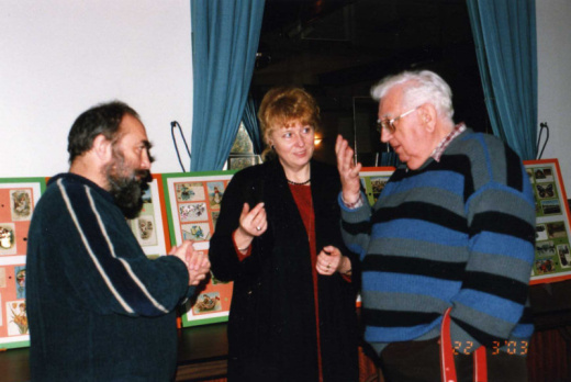 Rozhovor s nejzn�m�j�� �eskou sb�ratelkou pohlednic pan� Kv�tu�� Veselou