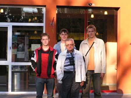 S mladými filatelisty na Evropském setkání v rakouském Grazu 24. - 28. září 2003