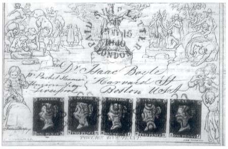 Sběratel 2000: 160. výročí první poštovní známky