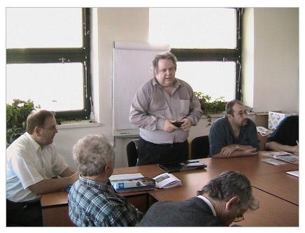 Schůzka sběratelů známkových zemí Geophila v Brně dne 5.4.2008