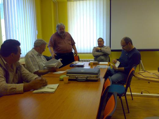 Schůzka sběratelů známkových zemí Geophila v Brně 24. 4. 2010