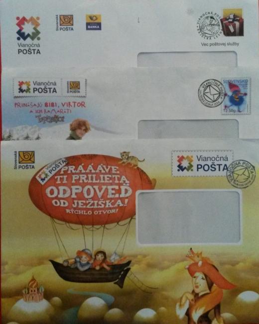 Slovenská pošta Ježiškovi