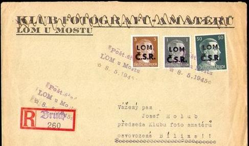 Slovensko - revolučné známky 1944-5