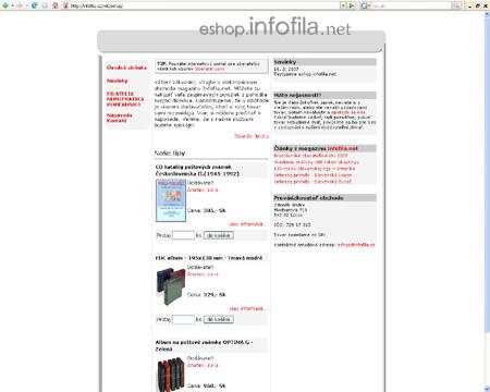 Slovenský Eshop pre zberateľov všetkých oborov Infofila.net