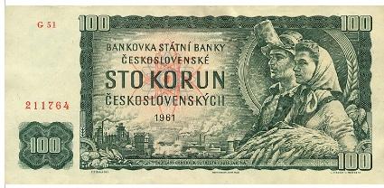 Sto koruna 1961