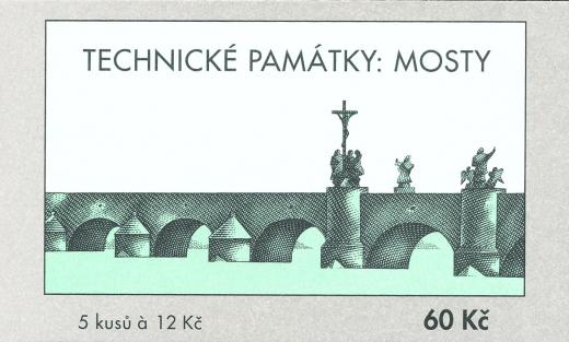Technické památky - historický most v Písku