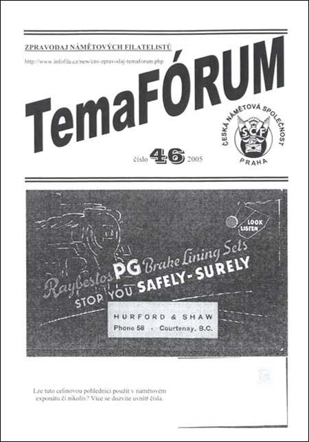 TemaFÓRUM č. 46/2005