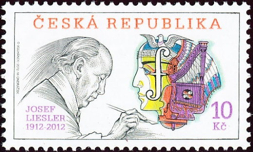 Tradice české známkové tvorby - Josef Liesler