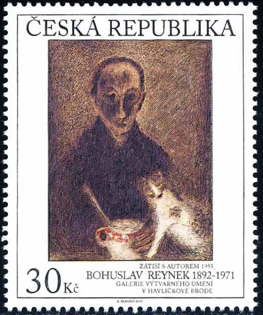 Umělecká díla na známkách: Bohuslav Reynek (1892 – 1971)