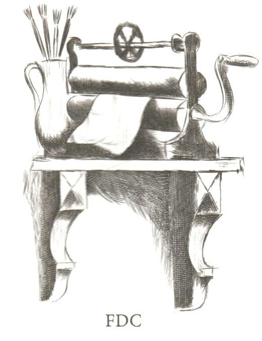 Umělecká díla na známkách - Vladimír Komárek