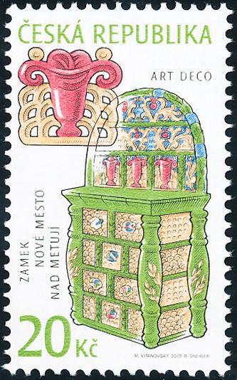 Umělecká řemesla: Historická kamna - Art deco
