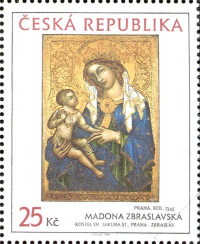 Umění doby Karla IV.: Madona Zbraslavská