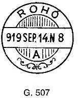 Ústrižok poštovej peňažnej poukážky vyfrankovaný 8x Pofis 7 a otázky okolo neho