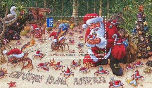 Vánoční poštovní známky 2014
