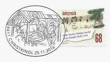 Vánoční známky Rakouska