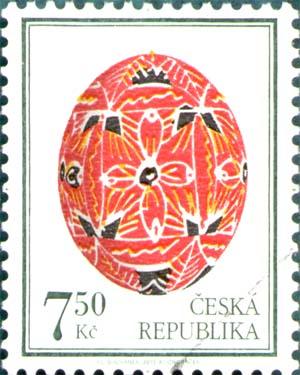 Velikonoce  -  výplatní známka 7,50 Kč