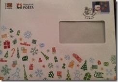 Vianočná pošta Ježiškovi  s  (filatelistickým) prekvapením