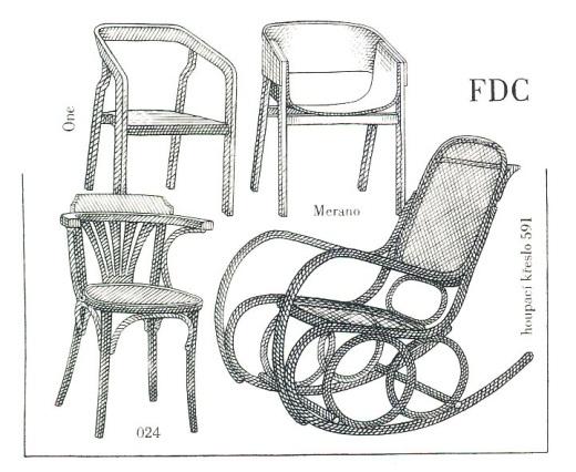 Vynálezy - Ohýbaný nábytek
