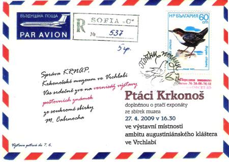 Výstava Ptáci Krkonoš