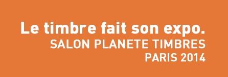 Výstava Salon Planete Timbres 2014 v Paříži