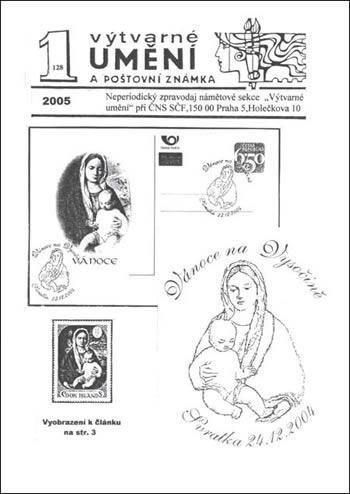 Výtvarné umění a poštovní známka 1/2005